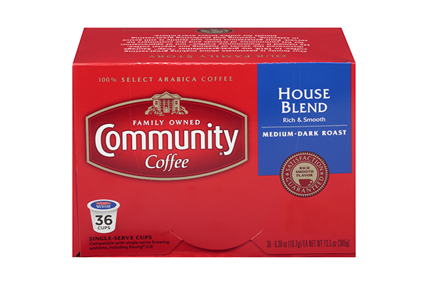 House Blend Coffee Pods 36 Count