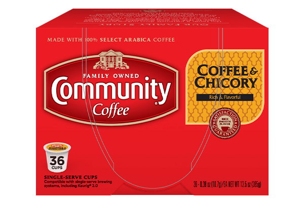 Coffee and Chicory Coffee Pods 36 count
