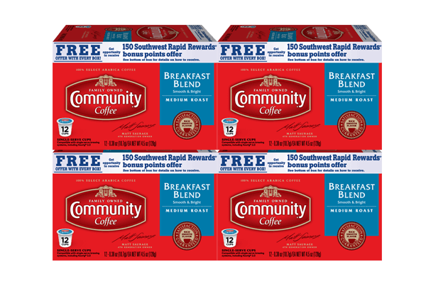 Breakfast Blend Coffee Pods 48 count