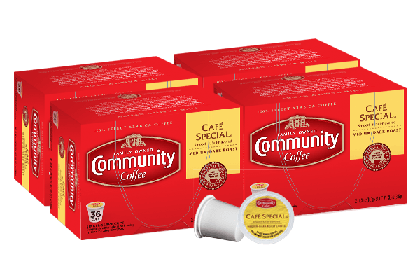 Cafe Special Coffee Pods 144 count