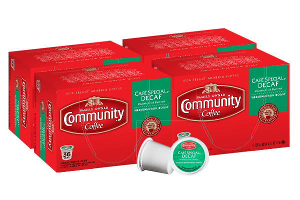 Cafe Special Decaf Coffee Pods 144 count