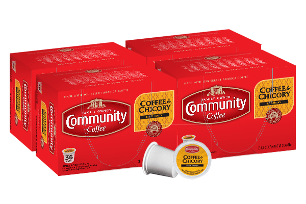 Coffee and Chicory Coffee Pods 144 count