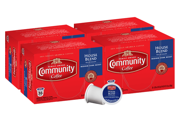 House Blend Coffee Pods 144 Count