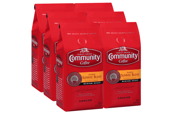 12 oz. Ground Amber Sunrise™ Blend Coffee (Pack of 6)