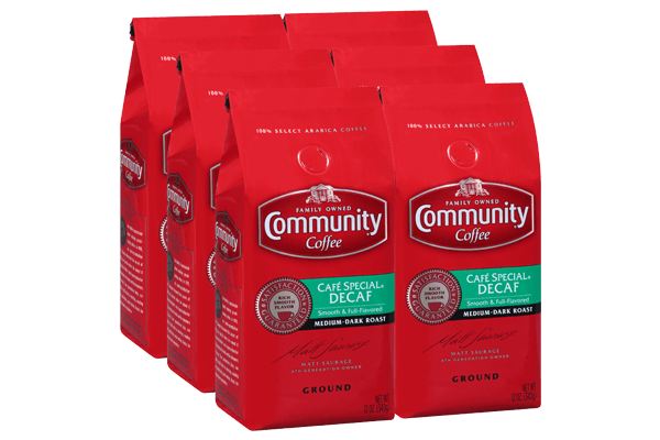 12 oz. Ground Cafe Special Decaf (Pack of 6)