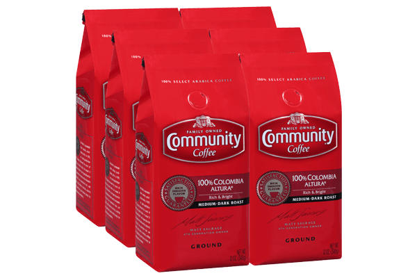12 oz. Ground Colombia Altura Coffee (Pack of 6)