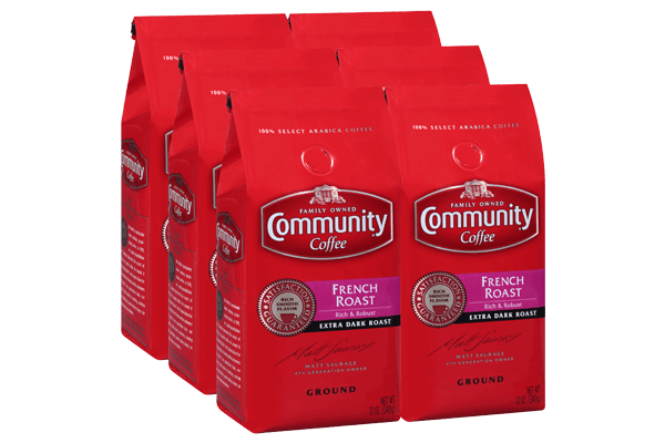 12 oz. Ground French Roast (Pack of 6)