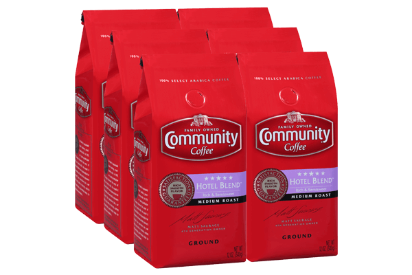 12 oz. Ground 5 Star Hotel Blend Coffee (Pack of 6)