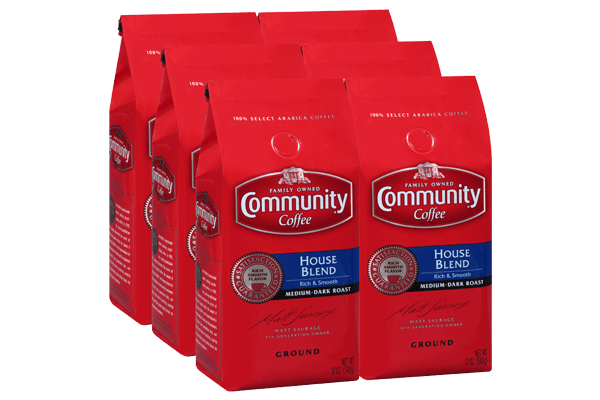 12 oz. Ground House Blend (Pack of 6)