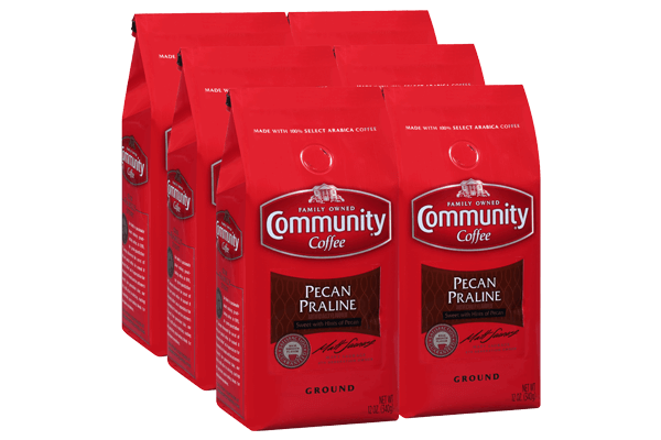 12 oz. Ground Pecan Praline Coffee (Pack of 6)
