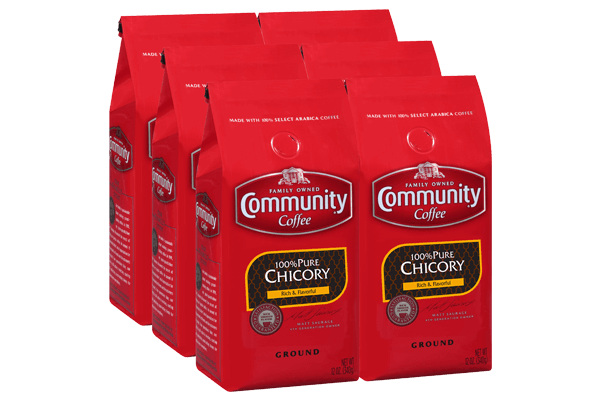 12 oz. Ground Pure Chicory (Pack of 6)