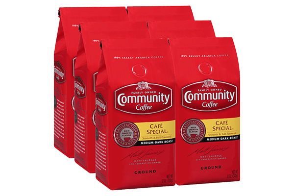 12 oz. Ground Café Special Coffee (Pack of 6)