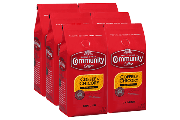 12 oz. Ground Coffee and Chicory (Pack of 6)