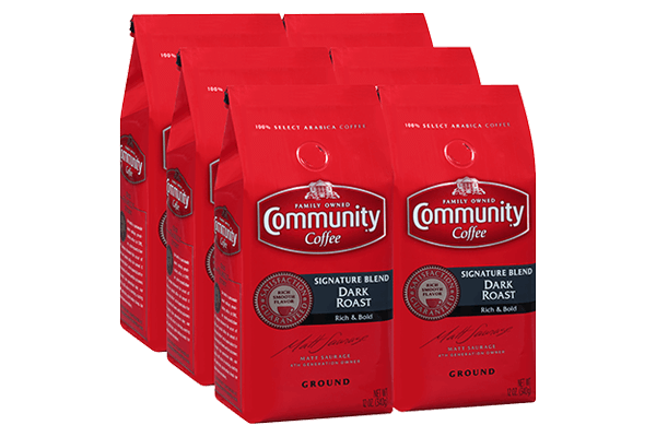 12 oz. Ground Signature Blend Dark Roast Coffee(Pack of 6)