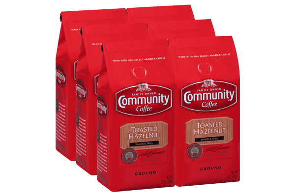 12 oz. Ground Toasted Hazelnut (Pack of 6)