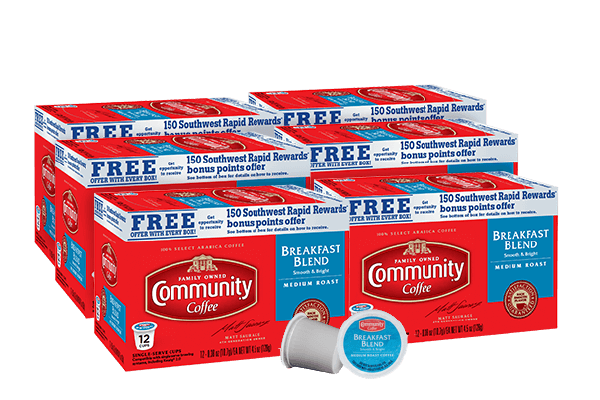 Breakfast Blend Coffee Pods 72 count