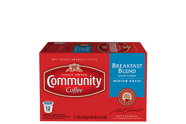 Breakfast Blend Coffee Pods 12 count