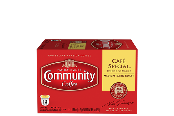 Cafe Special Coffee Pods 12 count