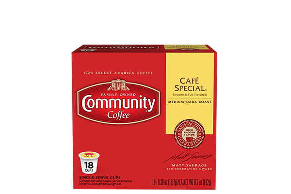 Cafe Special Coffee Pods 18 count