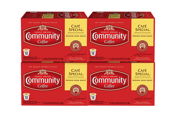 Cafe Special Coffee Pods 48 count