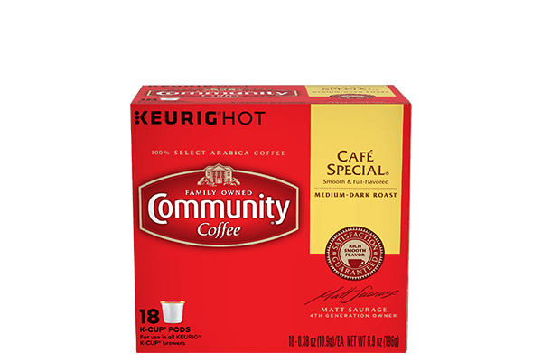 Cafe Special K-Cup Pods 18 count