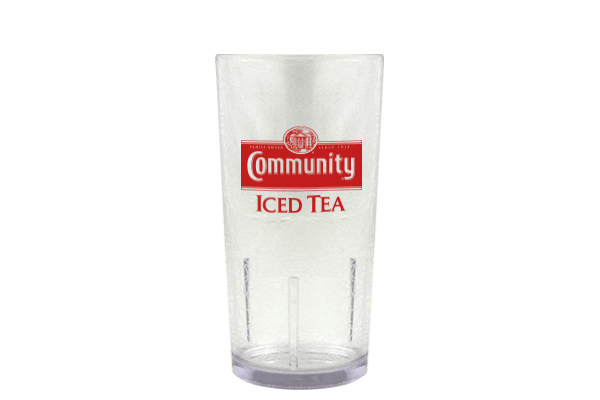 Clear Iced Tea Glass