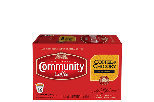 Coffee and Chicory Coffee Pods 12 count