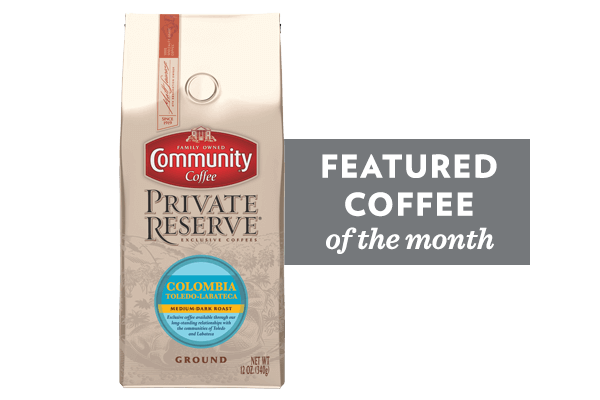 Coffee of the Month (Colombia Toledo-Labateca Coffee)