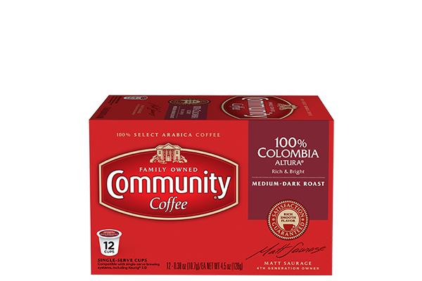 Colombia Altura Coffee Pods 12 Count
