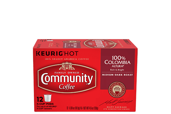 Colombia Altura K-Cup Pods 12 Count