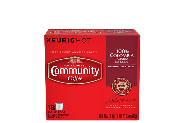 Colombia Altura K-Cup Pods 18 Count