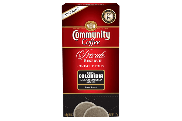 One Cup Pods 18 Count Colombia Dark Decaf