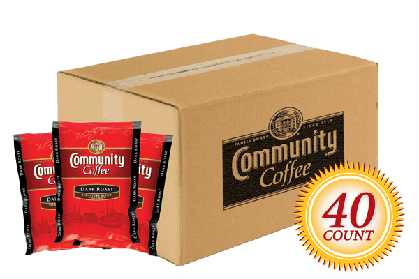 Dark Roast Pre Measured Packs 2.5 oz. 40 Count