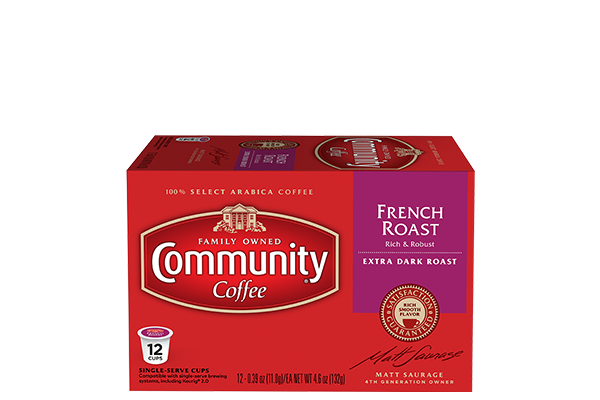 French Roast Coffee Pods 12 count