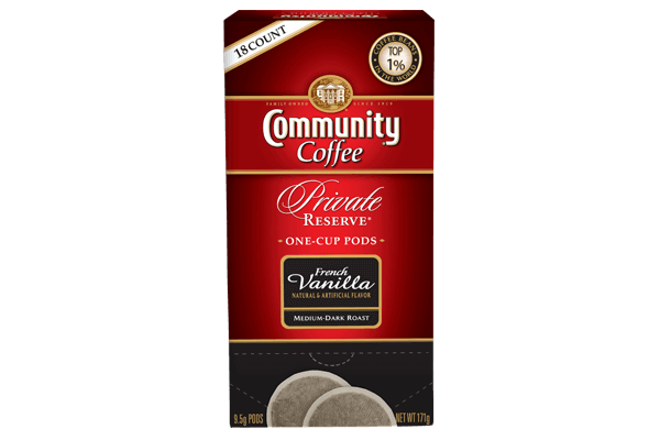 One Cup Coffee Pods 18 Count French Vanilla