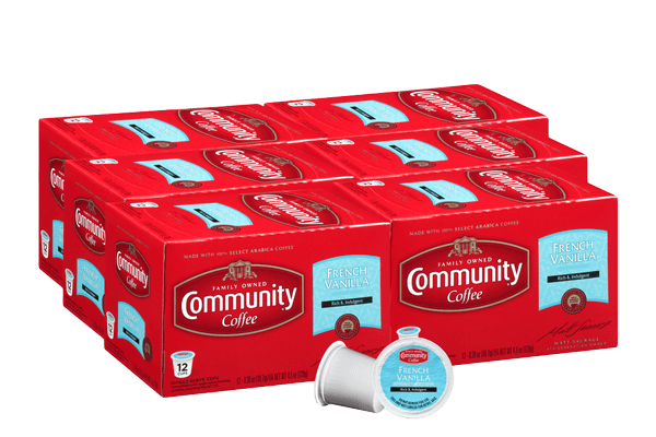 French Vanilla Coffee Pods 72 count