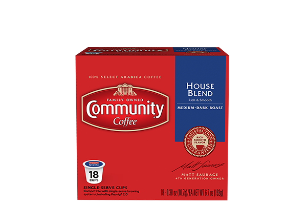 House Blend Coffee Pods 18 Count