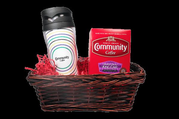 Mardi Gras Coffee Pods Gift Set