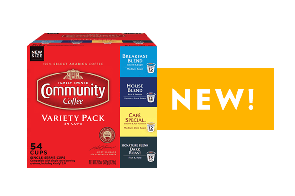 Coffee Pod Variety Pack 54 count