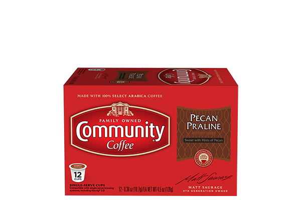 Pecan Praline Coffee Pods 12 count