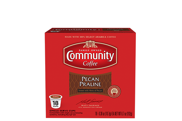 Pecan Praline Coffee Pods 18 count