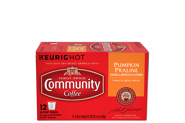 Pumpkin Praline Coffee Pods 12 count