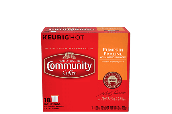 Pumpkin Praline Coffee Pods 18 count