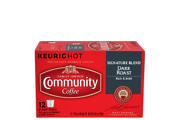 Signature Blend Dark Roast K-Cup Pods 12 count