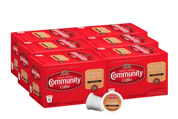 Toasted Hazelnut Coffee Pods 72 count
