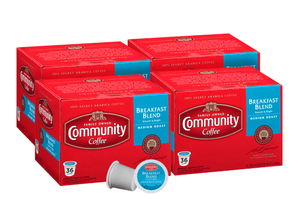 Breakfast Blend Coffee Pods 144 count