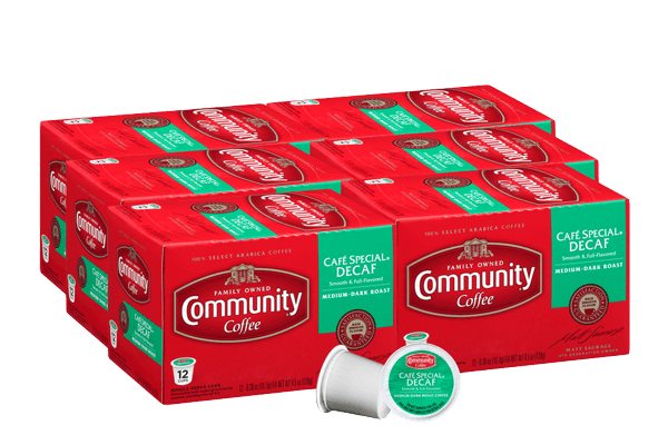 Cafe Special Decaf Coffee Pods 72 count