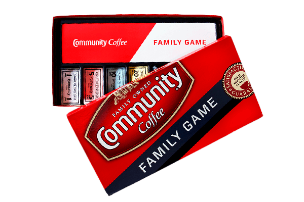 Community Coffee Family Game