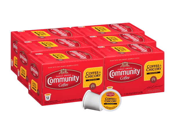 Coffee and Chicory Coffee Pods 72 count