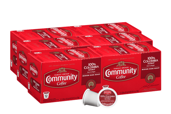 Colombia Altura Coffee Pods 72 count